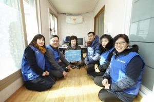 500원의 희망선물 225호 선정가정 (사진제공: 장애인먼저실천운동본부)