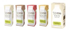상하목장 유기농 우유 무균팩이 업계 최초 FSC 인증 친환경 패키지를 적용한다 (사진제공: 상하목장)