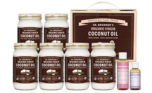 닥터 브로너스 유기농 버진 코코넛 오일 GS홈쇼핑 세트 (사진제공: 닥터 브로너스)