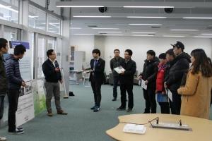 일본 현지서 활동 중인 기계플랜트설계사업단 모습 (사진제공: 동명대학교)