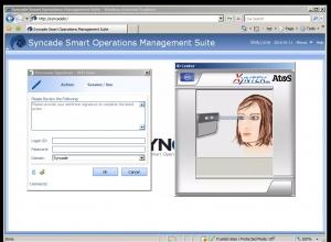 생체 인식 기술을 활용한 에머슨의 제조실행시스템(MES) Syncade 스마트 운영 관리 솔루션 (사진제공: 한국에머슨프로세스매니지먼트)