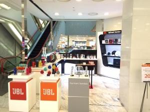 JBL스토어가 갤러리아 백화점 수원점에 팝업스토어를 오픈한다 (사진제공: 케이원에이브이)