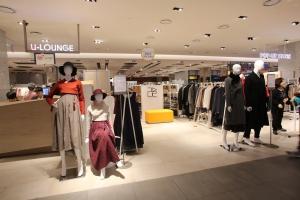 신한복 브랜드 리슬이 현대백화점 팝업 스토어를 운영한다 (사진제공: 손짱)