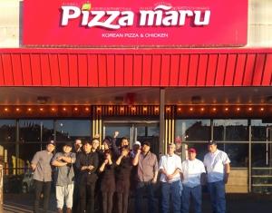 피자마루가 미국 뉴욕 플러싱에 1호점을 오픈했다 (사진제공: 푸드죤)