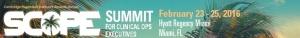 임상시험 운영 컨퍼런스인 SCOPE 2016이 개최된다 (사진제공: 글로벌인포메이션)