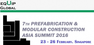 프리패브 및 모듈 공법 아시아 서밋 2016이 개최된다 (사진제공: 글로벌인포메이션)