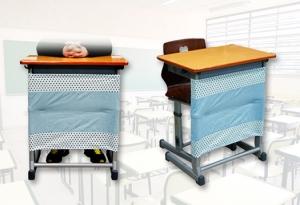 옥윤선특허디자인그룹이 여학생들의 짧은 치마를 위한 책상가림막을 개발했다 (사진제공: 옥윤선특허디자인그룹)