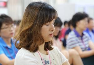 마음수련 교원직무연수가 교사들의 성격과 생활 변화에 큰 도움을 주는 것으로 평가 설문을 통해 나타났다 (사진제공: 전인교육학회)