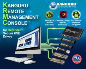 캉구루는 세계에서 가장 신뢰받는 완전 통합 USB 하드웨어/소프트웨어 보안 솔루션 업체로서 고객사에 완벽한 데이터 보안 관리 솔루션을 제공하고 있다. (사진제공: Kanguru Solutions)
