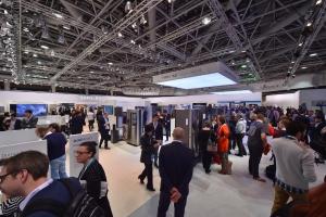 11일 모나코에서 열린 삼성전자의 대륙별 전략제품 소개행사인 삼성 유럽포럼 전시장 전경 (사진제공: 삼성전자)