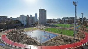 건국대학교 체육광장 전경 (사진제공: 건국대학교)
