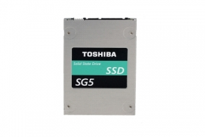 "도시바 15mm TLC NAND ""SG5 시리즈"" 클라이언트 SSD 2.5 타입 (사진제공: Toshiba Semiconductor & Storage Products Company)"