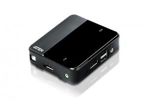ATEN 2포트 USB Displayport KVM 스위치 CS782DP (사진제공: 에이텐 코리아)
