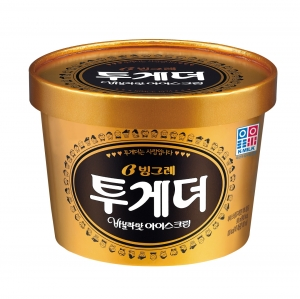 빙그레는 아이스크림 투게더가 국산우유사용 인증을 획득했다 (사진제공: 빙그레)