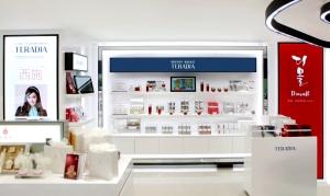 SM면세점에 입점한 나노다이아랩의 프레스티지 코스메틱 브랜드 테라다이아 매장 (사진제공: 나노다이아랩)