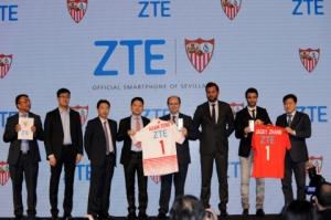 ZTE, 세비야 FC 공식 스마트폰 지정 (사진제공: ZTE Corporation)