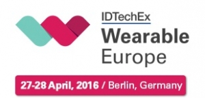 IDTechEx 주최의 웨어러블 컨퍼런스&전시회가 2016년 4월 26일부터 29일까지 독일 베를린에서 개최된다 (사진제공: 글로벌인포메이션)