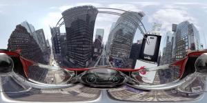 LG 'G5' 롤러코스터 VR (사진제공: 매시브크리에이티브)