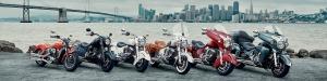 2016년 Indian Motorcycle Line up (사진제공: 화창상사)