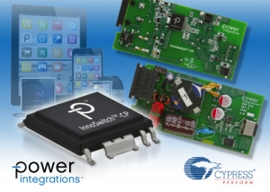 InnoSwitch-CP 와 EZ-PD CCG2 USB-PD 레퍼런스 디자인 (사진제공: Power Integrations, Inc.)