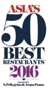 산펠레그리노와 아쿠아파나가 후원하는 2016 아시아 베스트 레스토랑 50 (사진제공: 산펠레그리노)