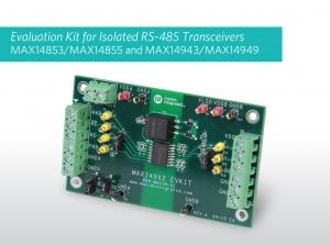 맥심 RS-485 트랜시버 제품군 평가 보드 (사진제공: 맥심 인터그레이티드 프로덕트 코리아)