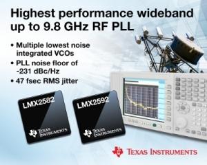 TI가 VCO를 내장한 업계 최고 성능의 PLL 제품을 출시한다 (사진제공: TI코리아)