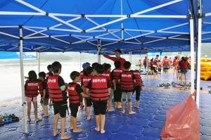 통영해양안전체험장이 12일 안전기원제를 개최한다 (사진제공: 통영해양안전체험장)