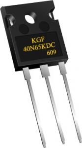 KEC IGBT 제품명 KGF40N65KDC (사진제공: KEC)
