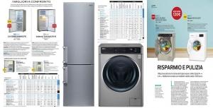 이탈리아 소비자 매체인 알트로콘수모 3월호에 게재된 세탁기와 냉장고 성능 평가 결과 (사진제공: LG전자)