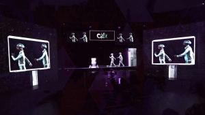 K-live 새 콘텐츠 홀로그램 드로잉쇼 렛츠고 스틸샷 (사진제공: KT)