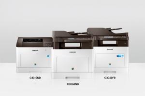 삼성전자가 출시한 중소기업 특화 저비용 고효율의 레이저 프린터·복합기 프로익스프레스 C30 시리즈 신제품 모습 (사진제공: 삼성전자)