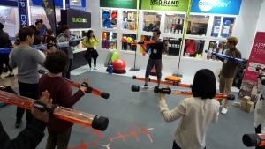 코어바디 슬래시파이프 시연 행사가 열렸다 (사진제공: 코어바디)
