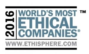 에티스피어 인스티튜트(The Ethisphere Institute)가 오늘 세계에서 가장 윤리적인 기업(the World's Most Ethical Companies®) 리스트 발표 10주년을 맞아, 21개국 131개 업체의 2016년 수상기업을 발표했다. (사진제공: The Ethisphere Institute)