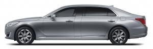 제네시스 브랜드는 초대형 럭셔리 세단 EQ900 리무진 모델을 9일부터 시판한다 (사진제공: 현대자동차)