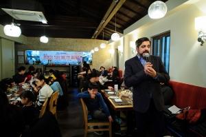 한세드림의 컬리수가 10일 서울시 종로구 소재 레스토랑에서 한세실업의 후원으로 프렌치 식사 에티켓 클래스를 성공적으로 완료했다. (사진제공: 한세드림)