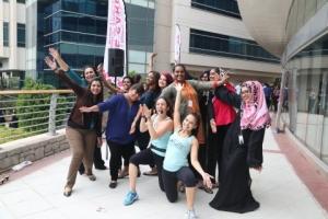 두바이 아웃소스시티가 세계여성의날을 기념했다. (사진제공: Dubai Outsource City)