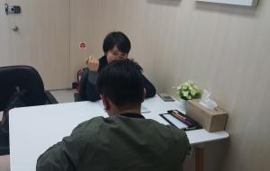 정신건강상담 (사진제공: 한국보건복지인력개발원 사회복무교육본부)