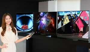 LG전자가 16일 새로운 울트라 올레드 TV 3개 시리즈 6개 모델을 출시하며 대중화에 속도를 높인다 (사진제공: LG전자)