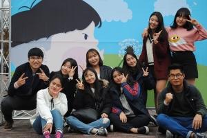미지센터 청소년운영위원회 활동 모습이다 (사진제공: 서울시립청소년문화교류센터)