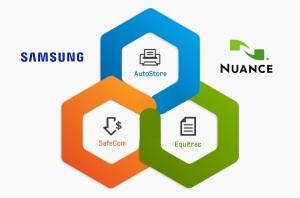 삼성전자가 뉘앙스 커뮤니케이션즈와의 파트너십을 통해 신규 프린팅 소프트웨어를 확대한다 (사진제공: 삼성전자)