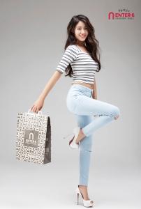 패션쇼핑몰 엔터식스가 공식모델 AOA 설현 2016 S/S 화보를 선 공개했다 (사진제공: 엔터식스)