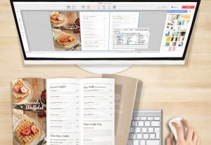 비즈하우스가 자체 개발한 디자인편집 프로그램 스마일캔버스를 이용하여 소비자가 직접 디자인하는 리플렛 상품 출시했다