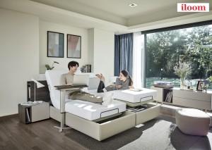 다양한 사용성으로 새롭게 움직이는 침실 라이프를 제안하는 모션베드, 아르지안