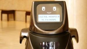 공항과 호텔에서 자율반송로봇 호스피의 시범실험이 개시된다