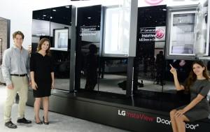 LG전자 매직스페이스 냉장고가 최근 글로벌 판매 300만대를 돌파했다