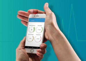 의학적으로 정밀한 리만 마이크로 디바이스의 스마트폰 통합형 헬스 센서 및 앱