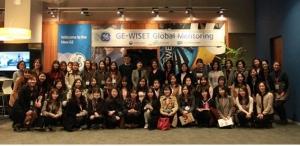 3월 17일 개최된 WISET-GE코리아 글로벌 멘토링 킥오프 미팅 참여자들이 기념사진을 촬영했다 (사진제공: 한국여성과학기술인지원센터)