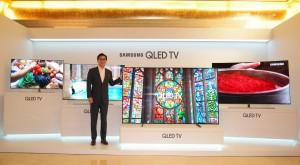 삼성전자는 21일 서울 역삼동 라움 아트센터에서 삼성QLED TV 미디어데이를 개최하고 초프리미엄 제품인 QLED TV와 프리미엄 UHD TV 제품군을 소개했다 (사진제공: 삼성전자)