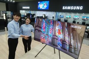 삼성전자가 24일부터 27일까지 서울 코엑스에서 열리는 월드 IT쇼 2017 에서 혁신 제품들을 선보이고 한 단계 진일보한 스마트 라이프의 새로운 가능성을 제시했다